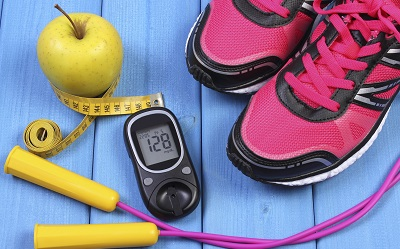Hyperglycemia after intense exercise manageable in type 1 diabetes